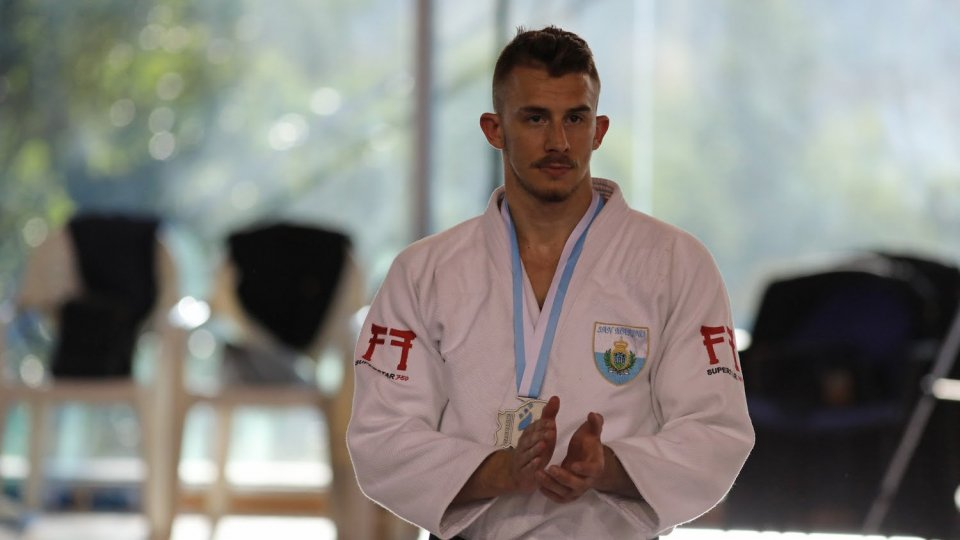San Marino rappresentato dal judoka Persoglia all'International Session for Young Participants