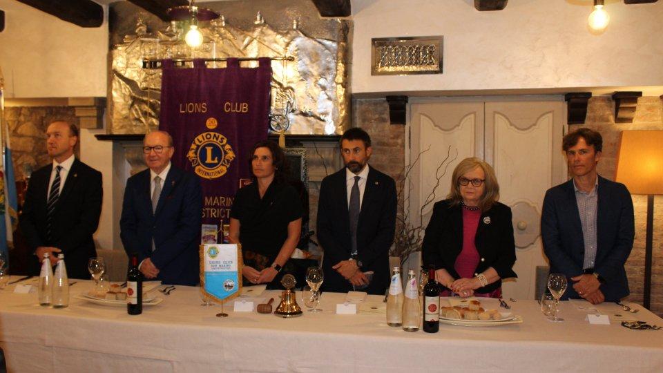 Meeting di apertura dell'anno sociale 2020-2021 del Lions Club San Marino Undistricted