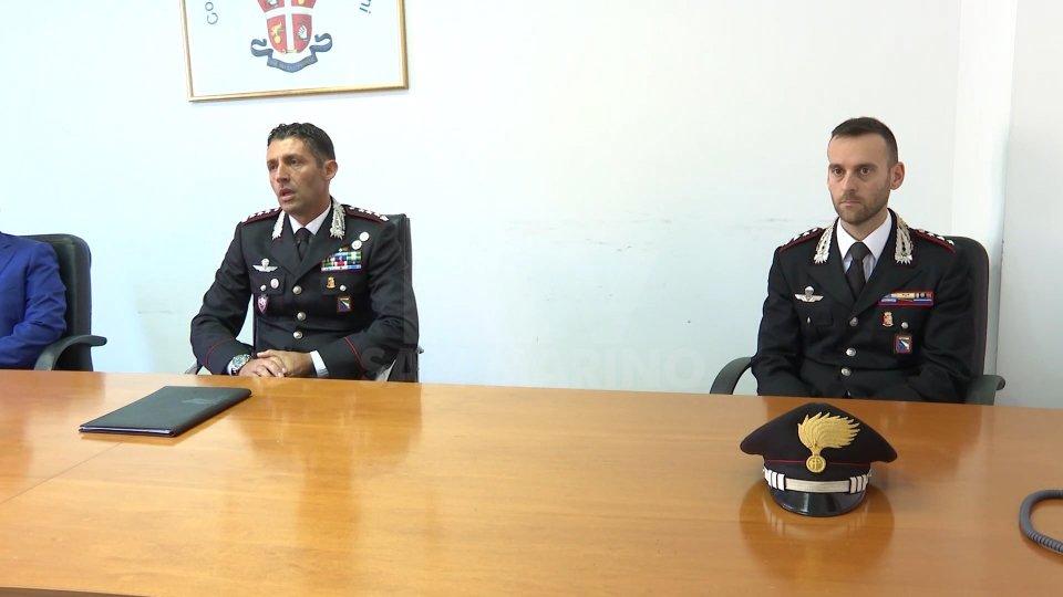 Carabinieri Rimini, si presentano comandante Provinciale e di Compagnia