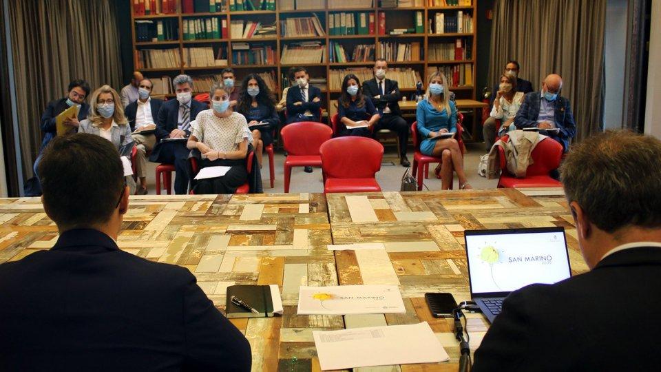 San Marino 2030: proseguono i lavori con Nomisma e gli incontri con le parti sociali