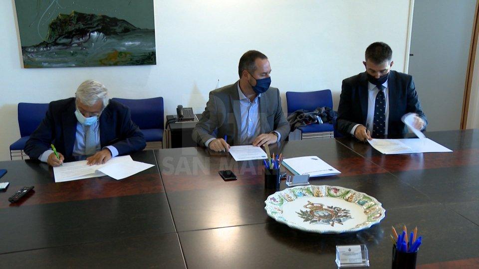 Carlo Verna incontra Segretario Teodoro Lonfernini