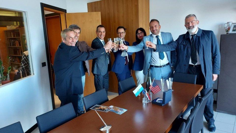Inaugurazione nuova sede dell'Associazione Fratellanza San Marino - America