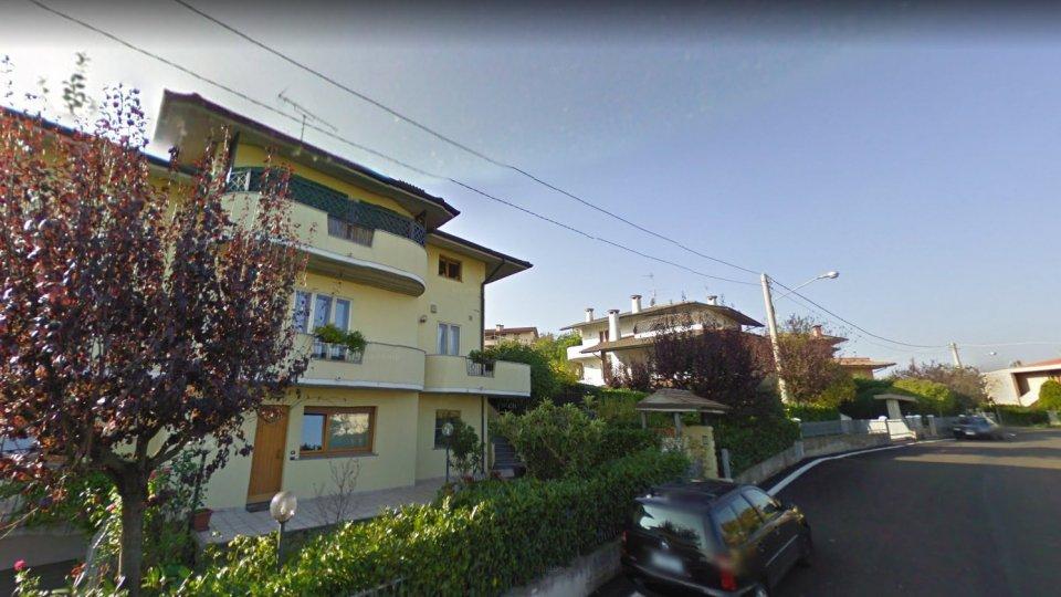 Il luogo dell'incendio (Google Maps)