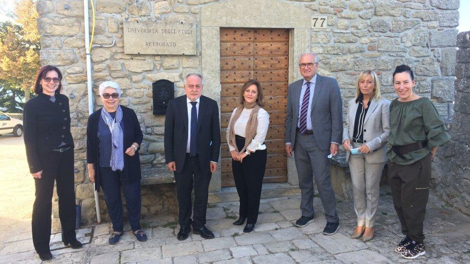 Formazione e PA: accordo fra Università di San Marino e Istituto Internazionale delle Scienze Amministrative
