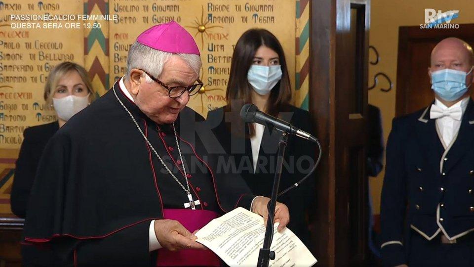 Il saluto del Nunzio Apostolico, Mons. Emil Paul Tscherrig