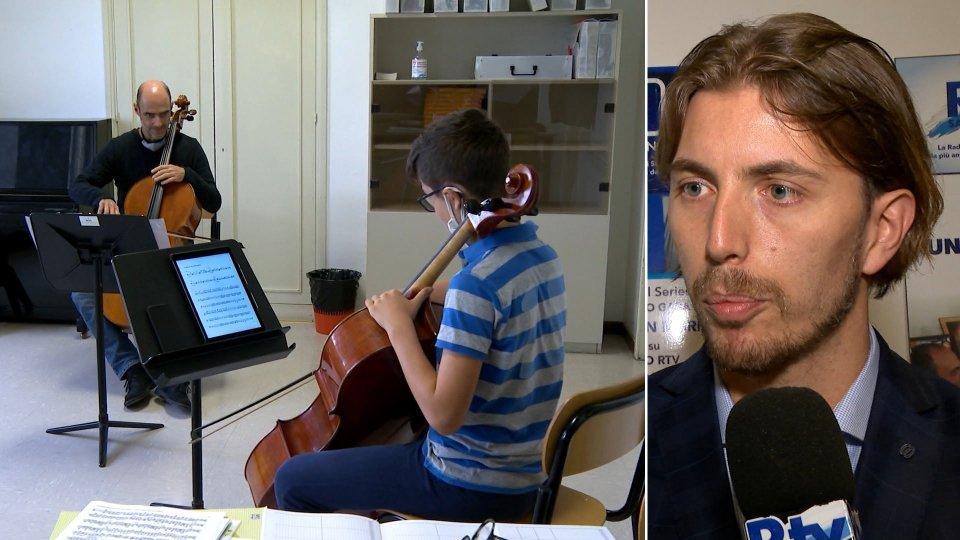 Nel servizio l'intervista a Giacomo Volpinari, Presidente Istituto Musicale Sammarinese.