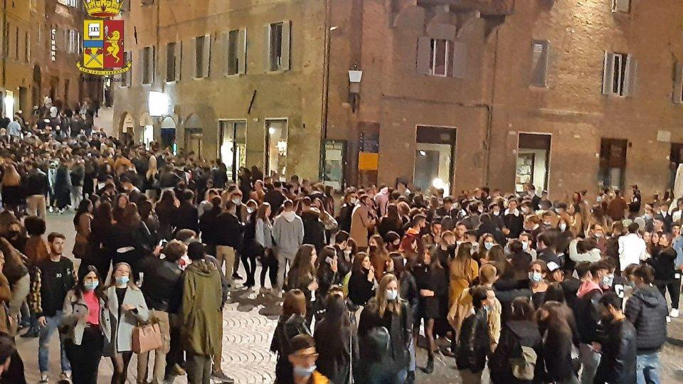 Urbino: controlli e sanzioni giovedì sera per la serata degli universitari