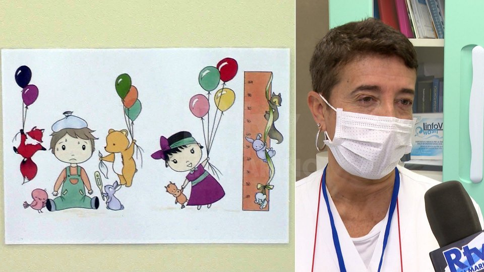 Nel video, l'intervista al Direttore di Pediatria, Laura Viola