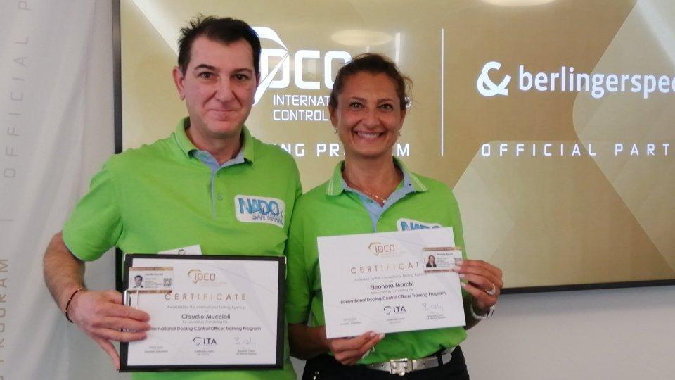 Il NADO San Marino è il primo ad avere i propri DCO accreditati a livello internazionale