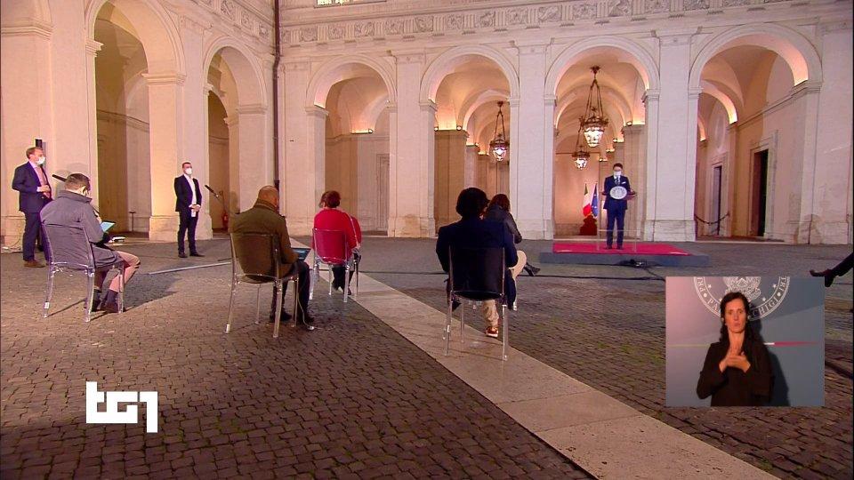 Conferenza stampa di Giuseppe Conte