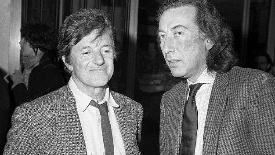 Mario Marenco e Alfredo Cerruti (4 marzo 1988) | Foto: rainews