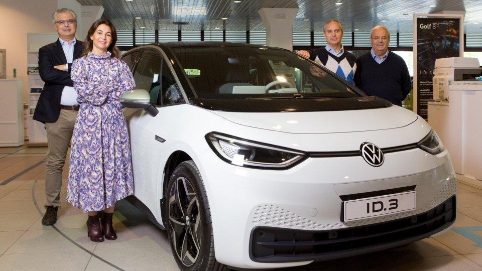 Reggini festeggia i 70 anni e presenta Volkswagen ID3