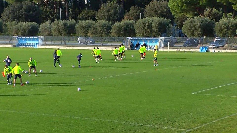 Allenamenti Lazio