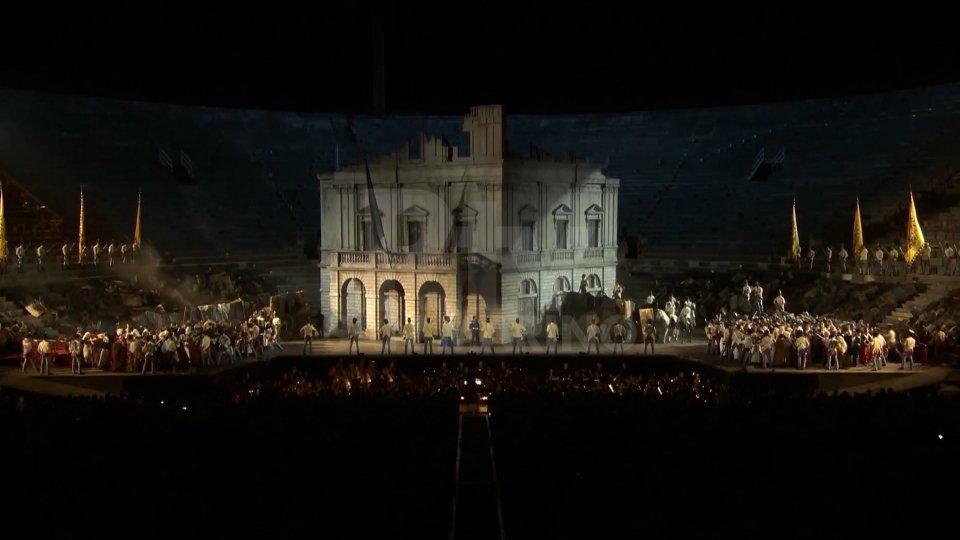 """Il """"Nabucco"""" a Verona"""