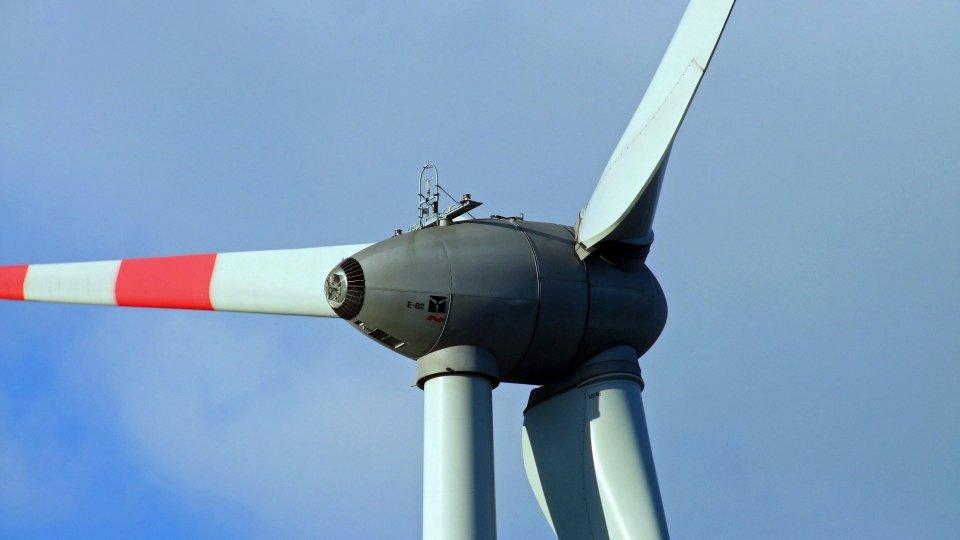 Una pala eolica (Pixabay)