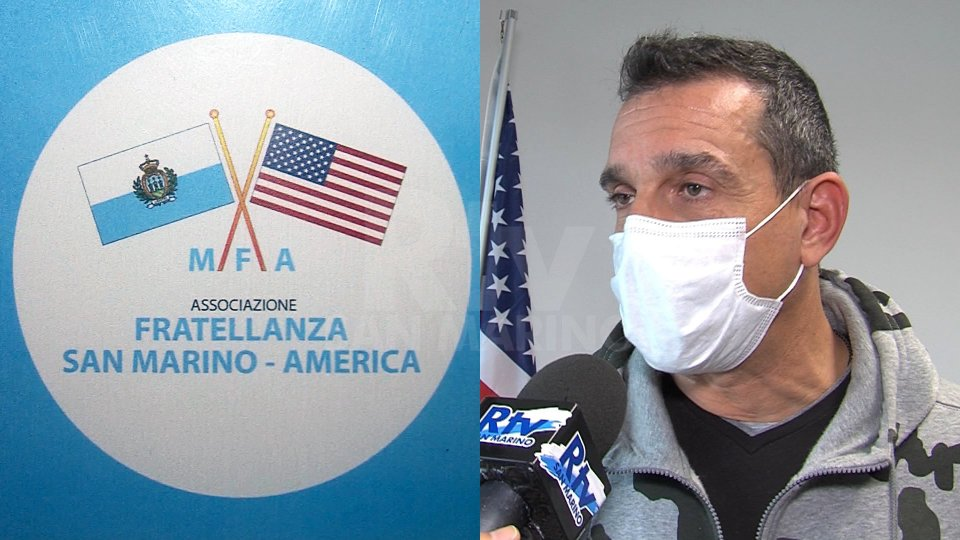 Nel servizio l'intervista a Roberto Moretti - Vice Presidente Associazione Fratellanza San Marino-America