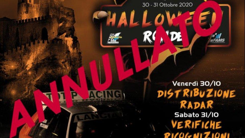 Rally: annullato il 1° Halloween Ronde