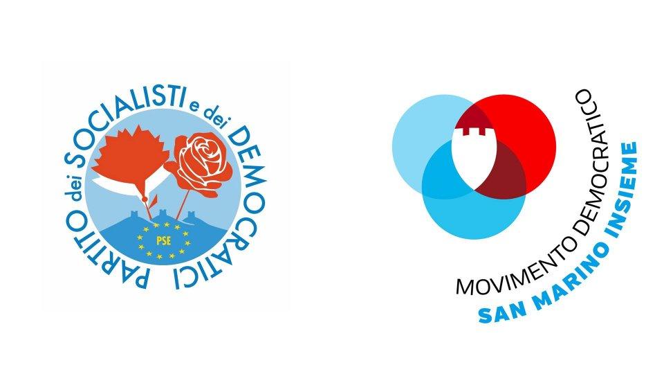 PSD e MD: congratulazioni a Giancarlo Venturini per la riconferma del mandato