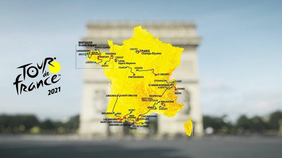 Presentato il Tour 2021: 21 tappe, torna il Mont Ventoux