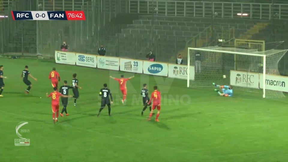 Ravenna - Fano 1-0