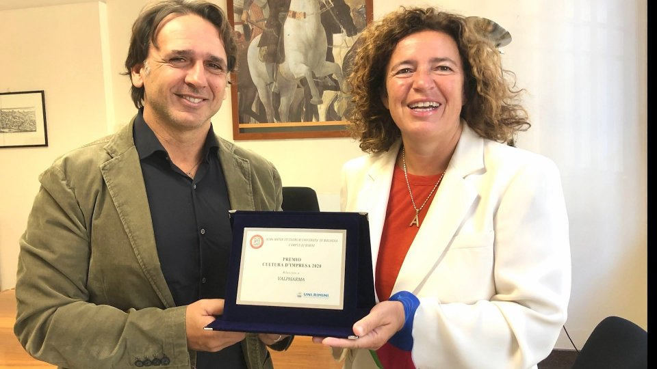 Premio Cultura d'Impresa 2020: il Campus universitario di Rimini ringrazia Valpharma Group