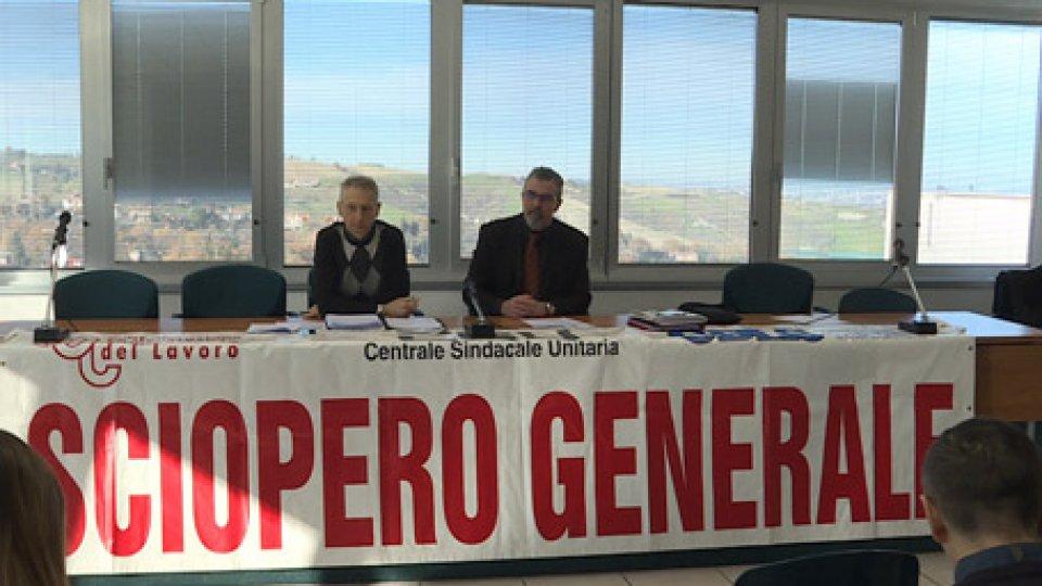 La Csu si prepara allo sciopero generaleLa Csu si prepara allo sciopero generale del 14 dicembre e invita tutti a scendere in piazza
