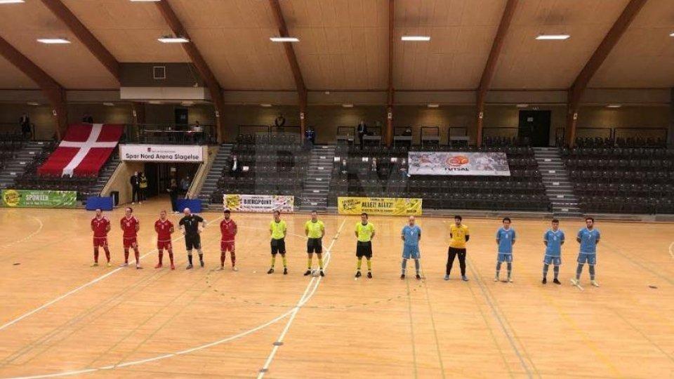 La Danimarca vince 2 a 0 ma San Marino esce a testa altissima