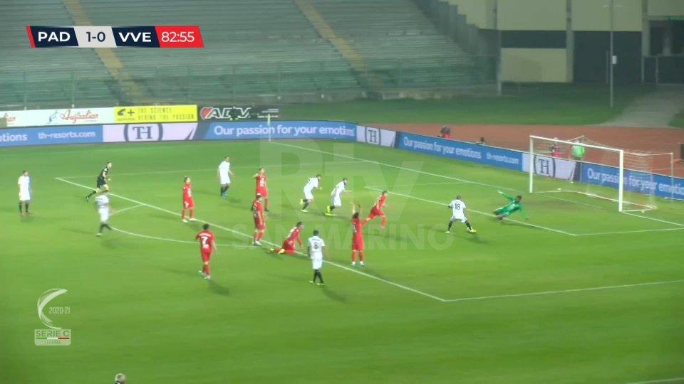 Padova batte Virtus Vecomp Verona 2-0.