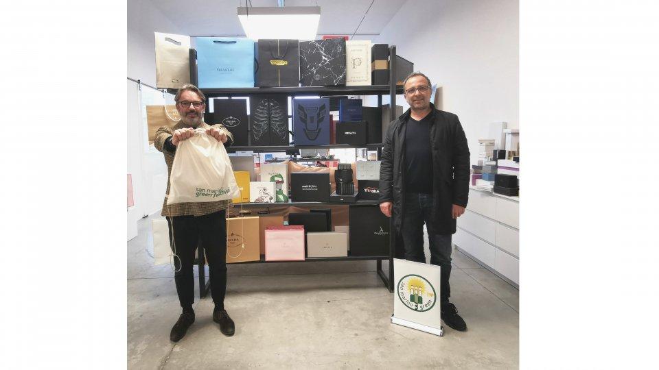 Da Luce gli shopper ecosostenibili per il Green Festival