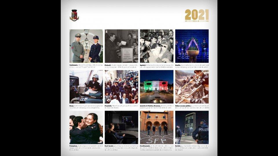Rimini: Presentato il calendario istituzionale della Polizia di Stato 2021