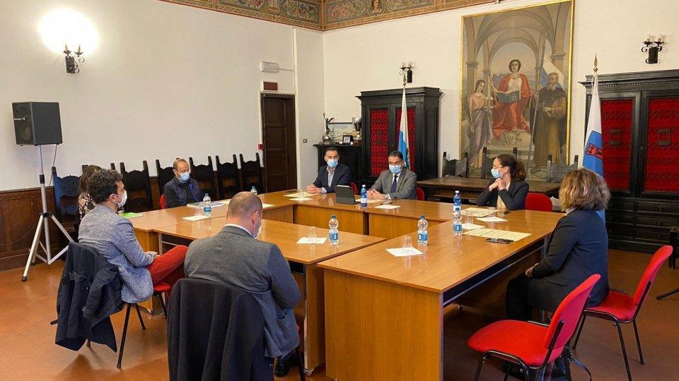 Serravalle: siglato  patto di amicizia e collaborazione tra i Castelli della Repubblica e i comuni limitrofi al comune di Caserta