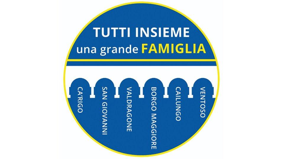'Tutti insieme una grande famiglia'