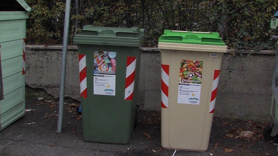 Avvio della raccolta dei rifiuti organici all'interno del Castello di Borgo Maggiore