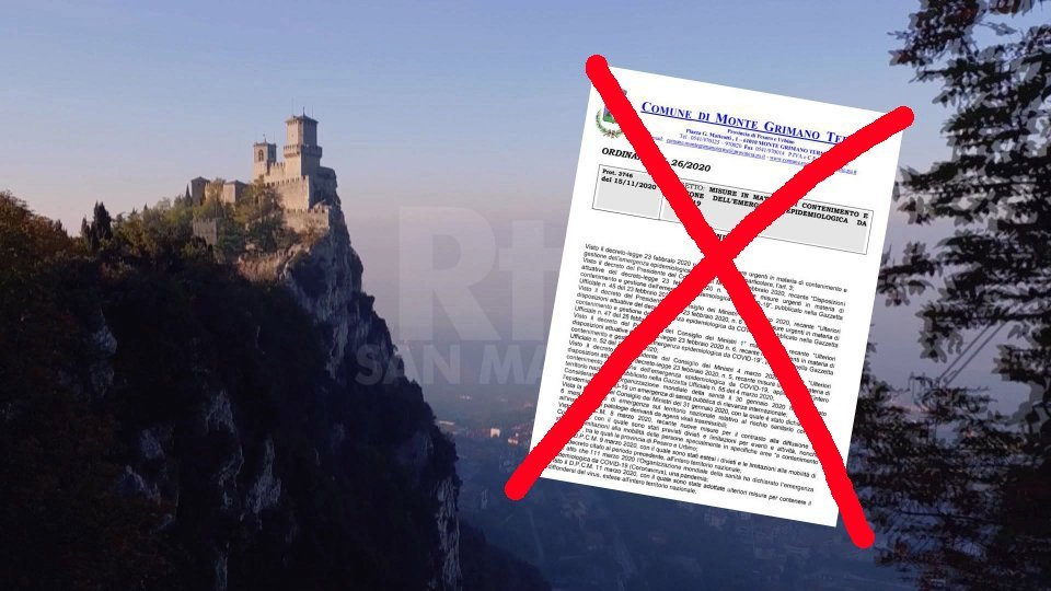 Revocata l'ordinanza del Sindaco di Monte Grimano