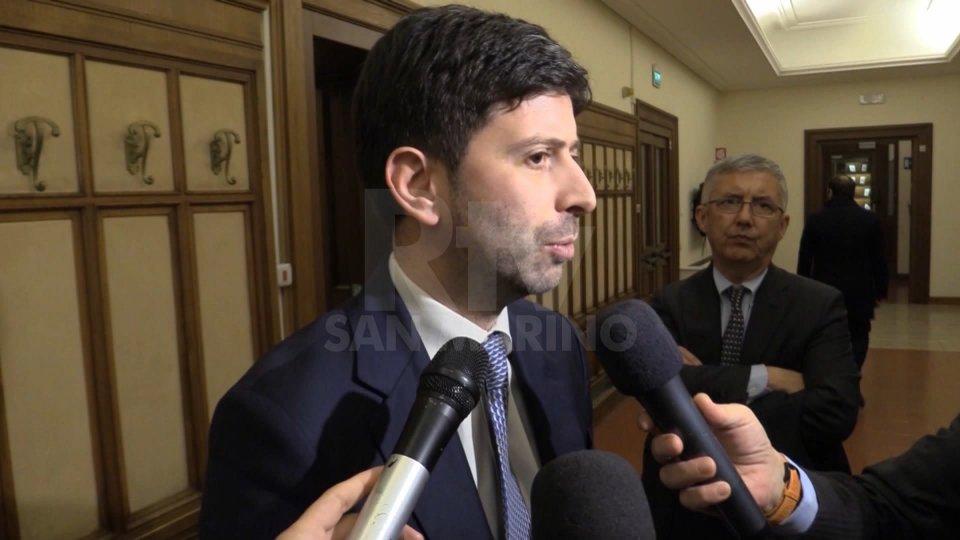 Il ministro della salute Roberto Speranza (foto archivio)