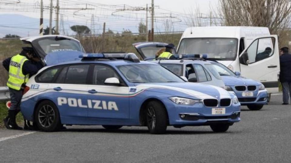il caravan scoperto dalla Polizia di Stato
