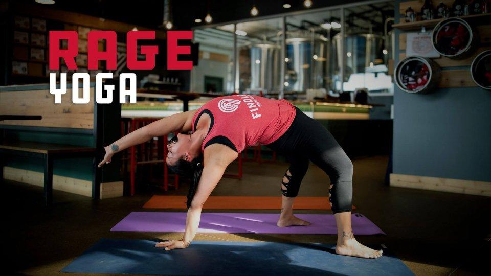 Se lo Yoga tradizionale vi fa venire il nervoso, arriva il Rage Yoga