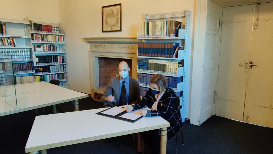Siglato accordo di collaborazione fra Istituti Culturali e Soroptimist Single Club San Marino per una migliore valorizzazione e fruizione di periodici storici custoditi presso la Biblioteca di Stato