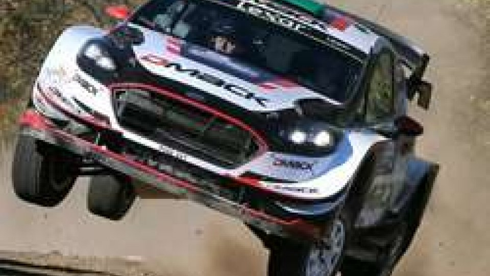 Evans su Ford Fiesta WRC