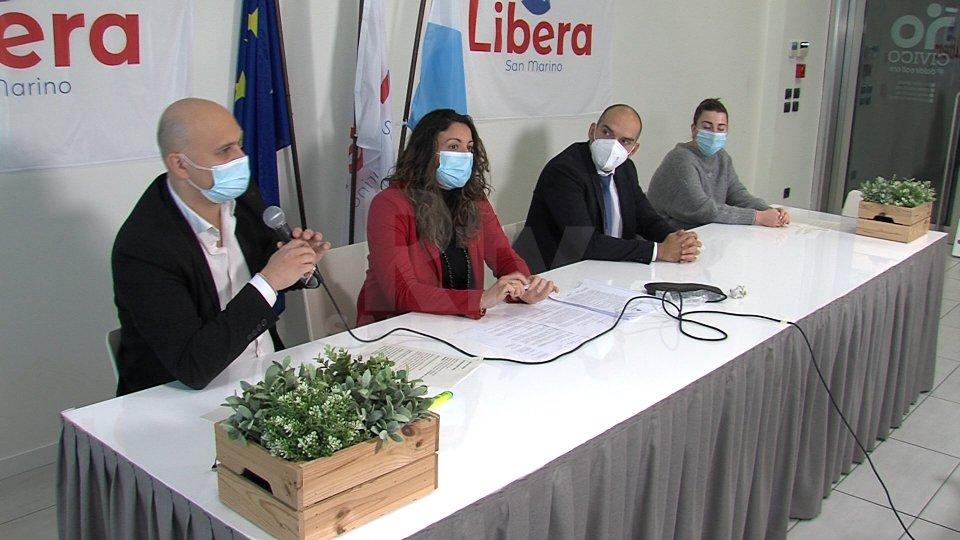 Conferenza stampa LiberaNel servizio l'intervista a Marica Montemaggi, Libera
