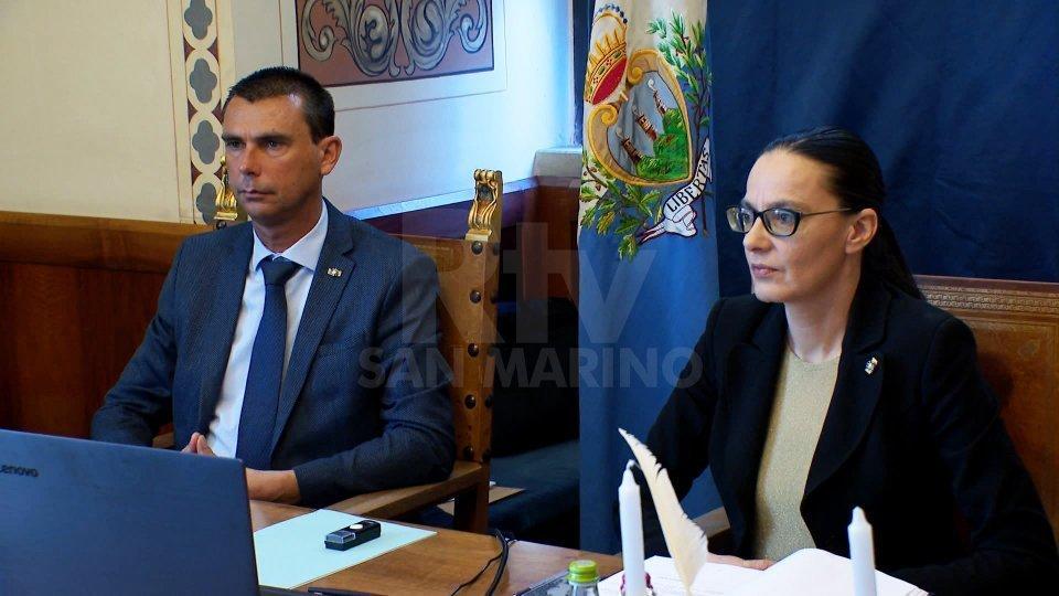Alessandro Mancini e Grazia Zafferani nel semestre reggenziale