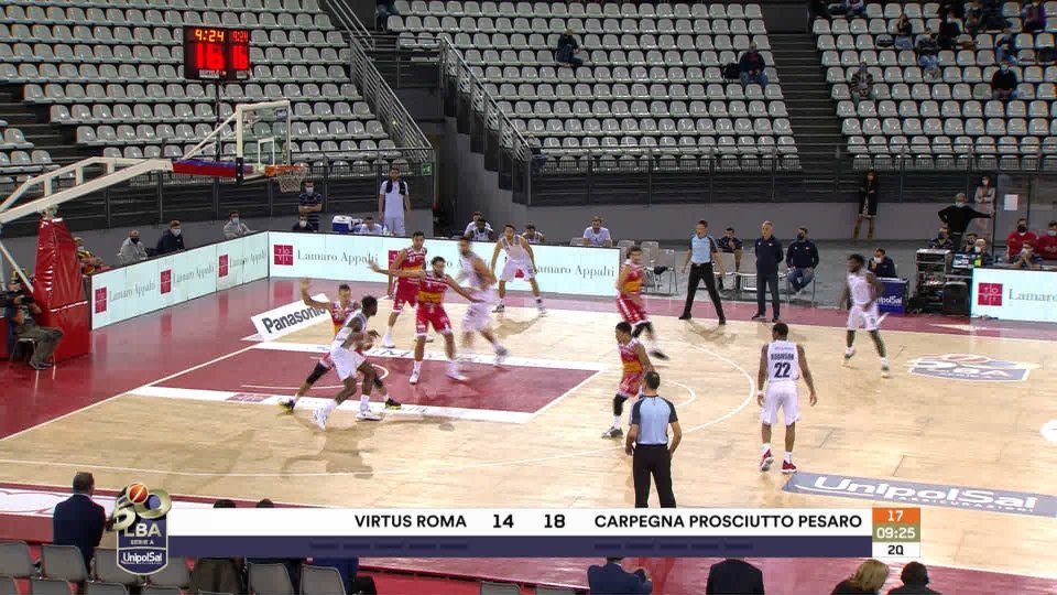 Si ritira la Virtus Roma, la Serie A resta a 15