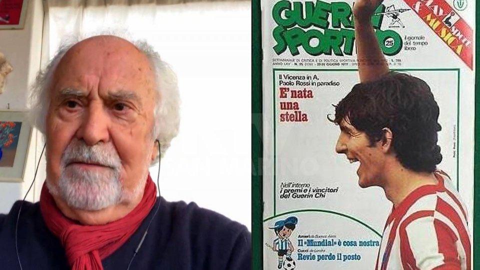 Italo Cucci e la copertina del Guerrin Sportivo su Paolo Rossi