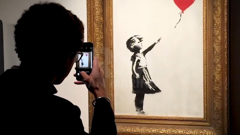 """Banksy """"Better out..."""":  il docu 'contro' su Wanted Zone"""