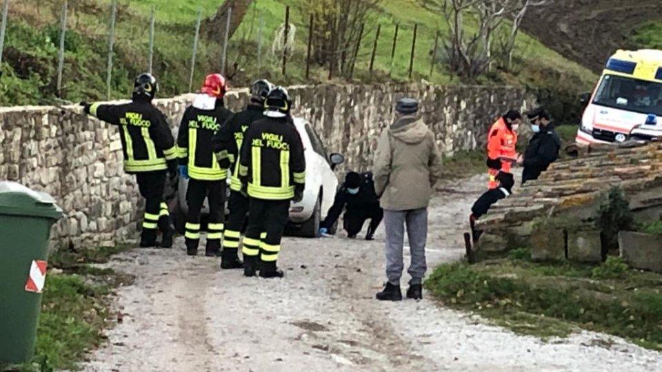 Alcuni scatti dal luogo dell'incidente