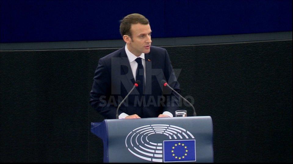 Emmanuel Macron (foto archivio)