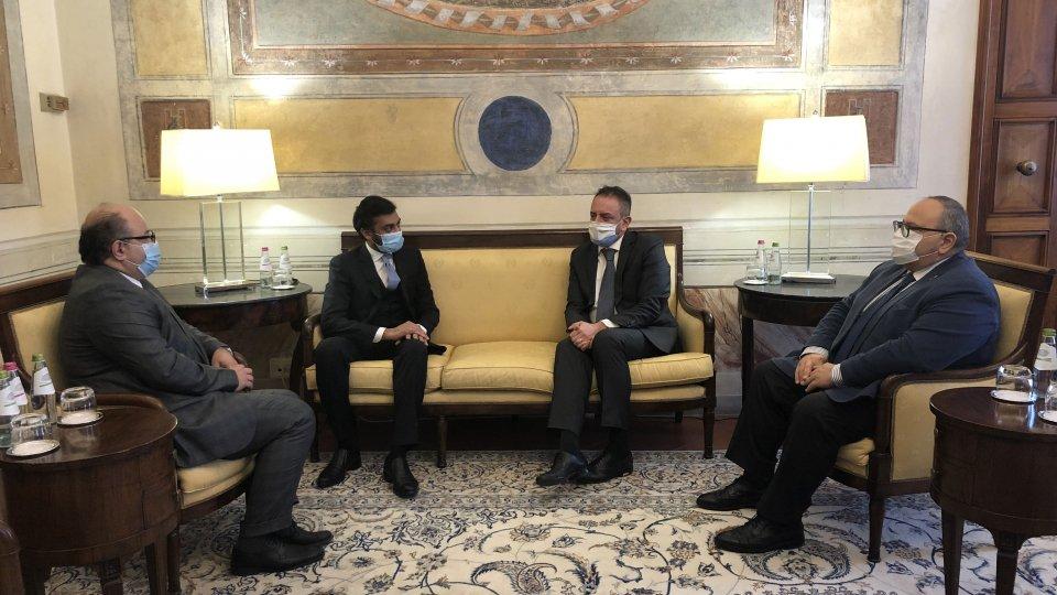 Nel video l'intervista al Segretario agli Affari Esteri, Luca Beccari