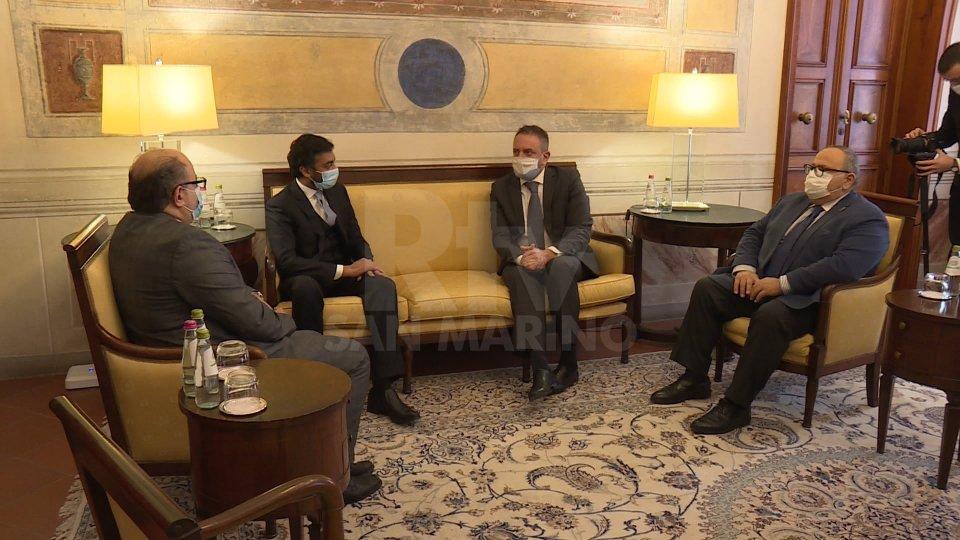 Collaborazione tra Emirati Arabi e San Marino: donazione emiratiana a favore della Caritas