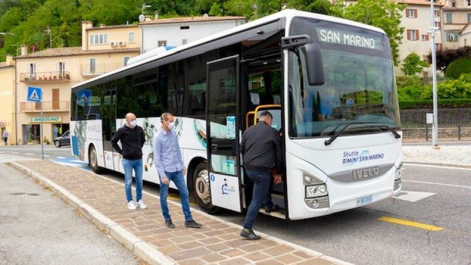 Rimini - San Marino: sospese le corse dei bus per il periodo natalizio