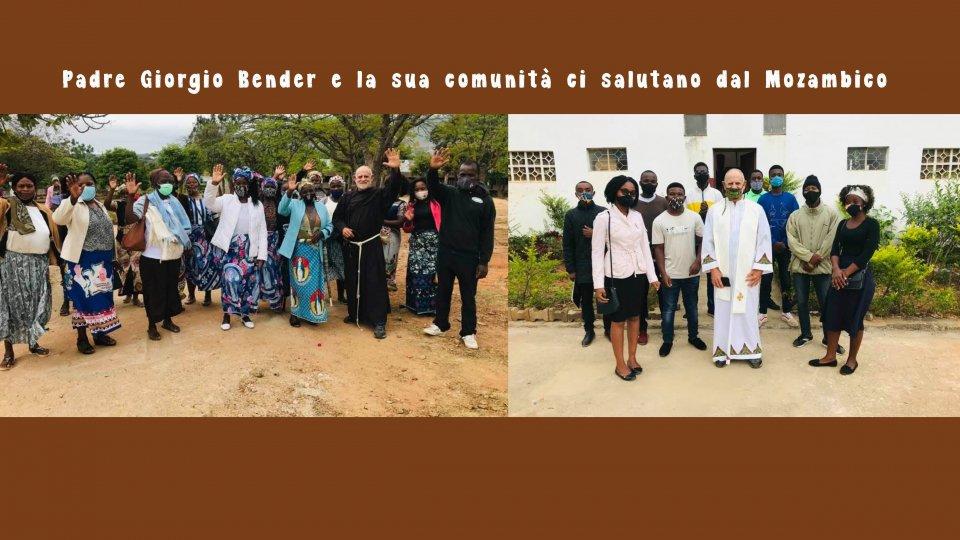 Proseguono gli aiuti per il progetto di Padre Giorgio in Mozambico. La sua lettera d'auguri
